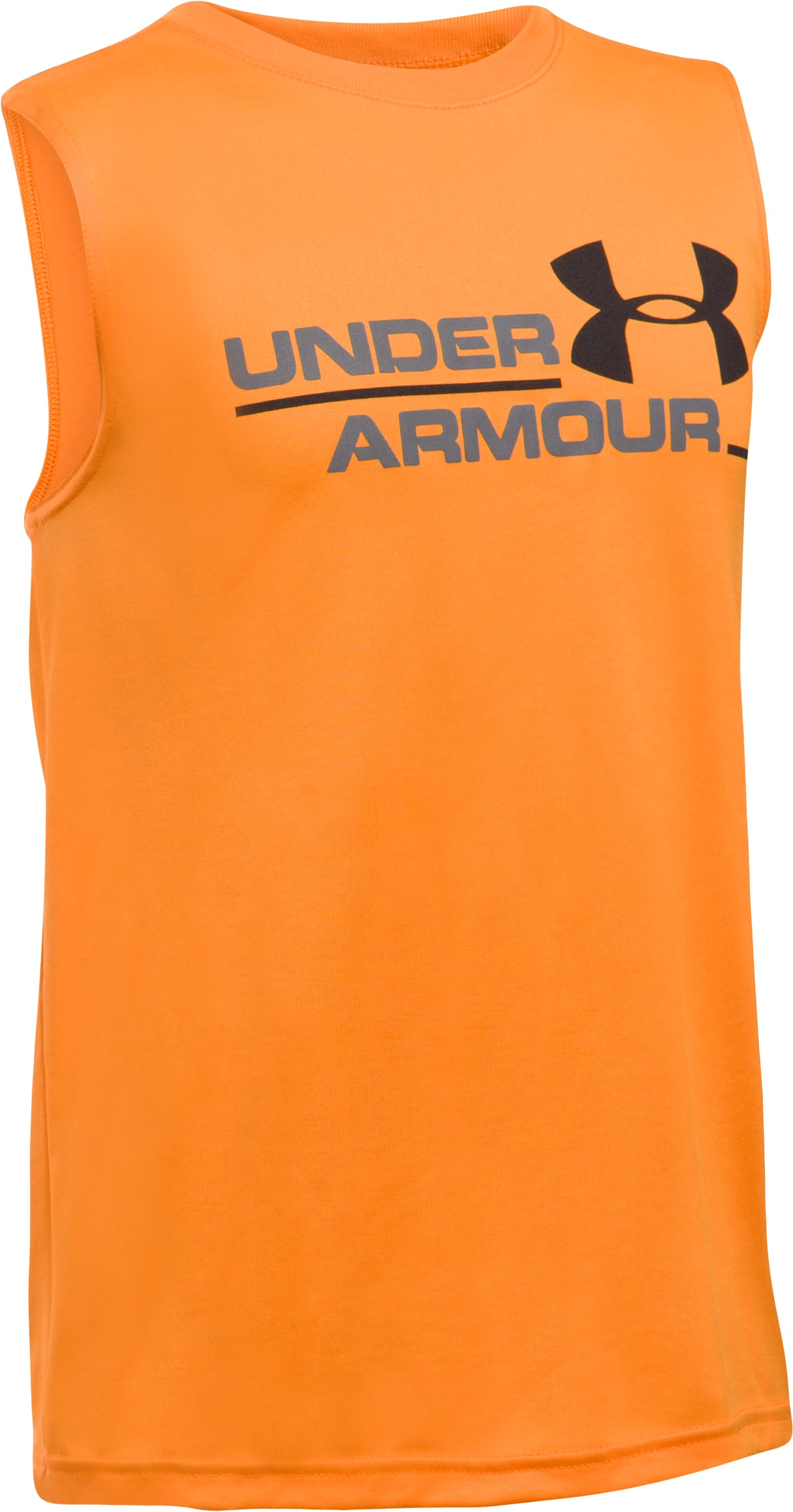 Boys' UA Double Header Tank, Radiate, undefined