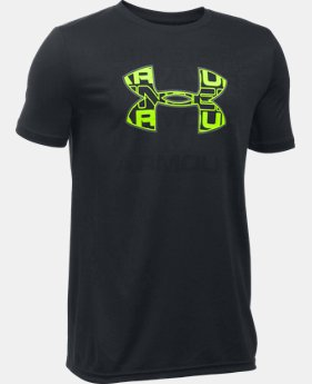 New Arrival  Boys' UA Infusion Logo T-Shirt  6 Colors $29.99
