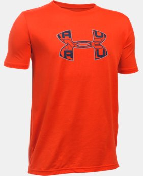 New Arrival  Boys' UA Infusion Logo T-Shirt  1 Color $29.99