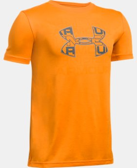 Boys' UA Infusion Logo T-Shirt  1 Color $17.99