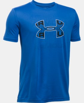 New Arrival Boys' UA Infusion Logo T-Shirt   $24.99