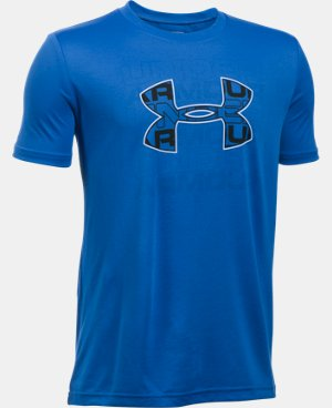 New Arrival  Boys' UA Infusion Logo T-Shirt  2 Colors $29.99