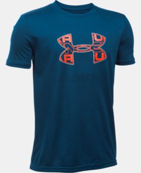 Boys' UA Infusion Logo T-Shirt  3 Colors $24.99
