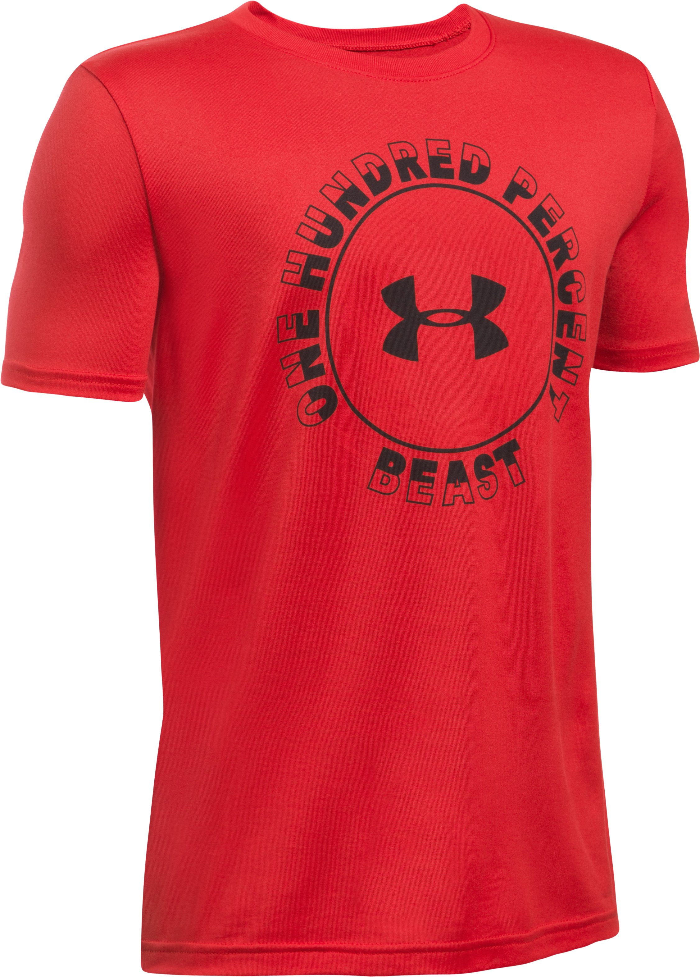 Boys' UA Beast Within T-Shirt, Red