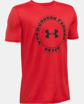 Boys' UA Beast Within T-Shirt  1 Color $22.99