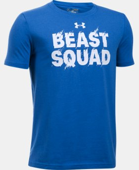 Boys' UA Beast Squad T-Shirt  1 Color $19.99
