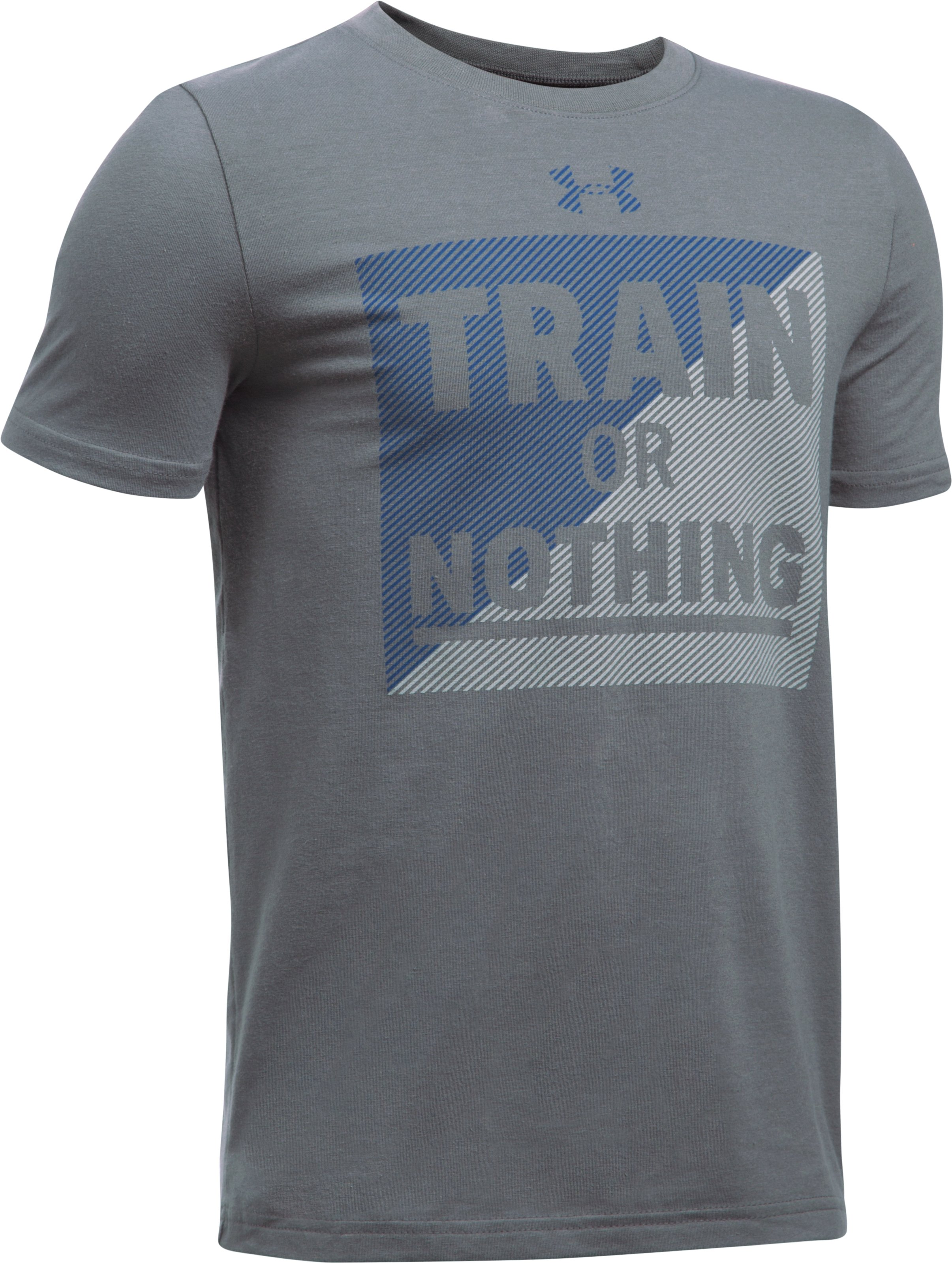 Boys' UA Train Or Nothing T-Shirt, Graphite