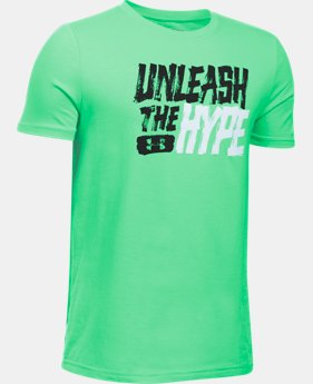 Boys' UA Unleashed T-Shirt  1 Color $17.99