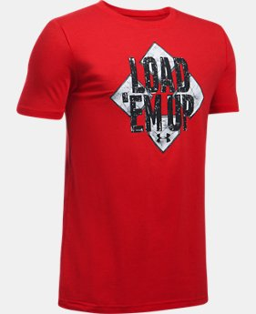 Boys' UA Bases Loaded T-Shirt  1 Color $19.99