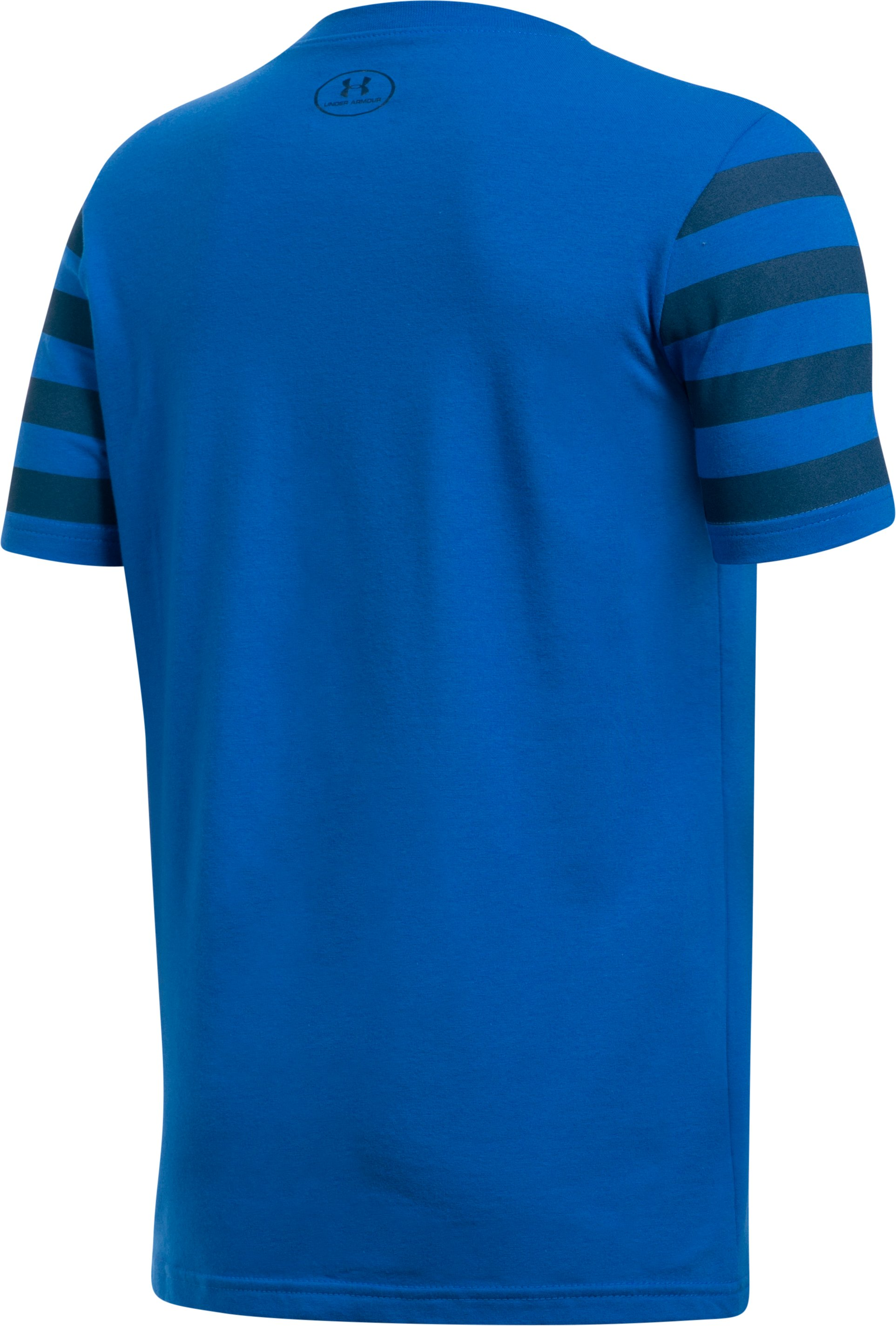 Boys' UA Big Logo Flag T-Shirt, ULTRA BLUE