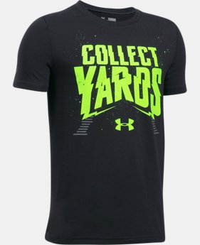 Boys' UA Collect Yards T-Shirt  1 Color $19.99