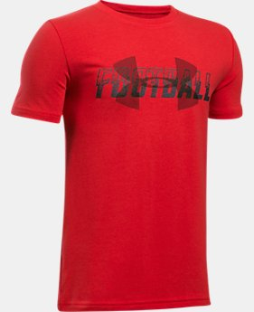 Boys' UA Football Overlay T-Shirt  2 Colors $19.99