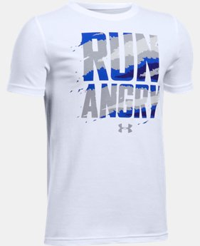 Boys' UA Run Angry T-Shirt  1 Color $19.99