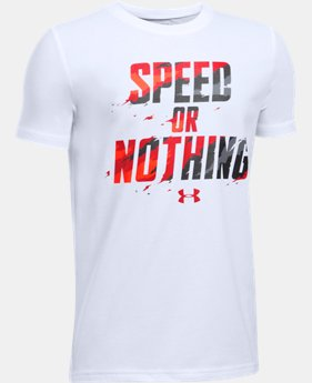 Boys' UA Speed Or Nothing T-Shirt  1 Color $19.99
