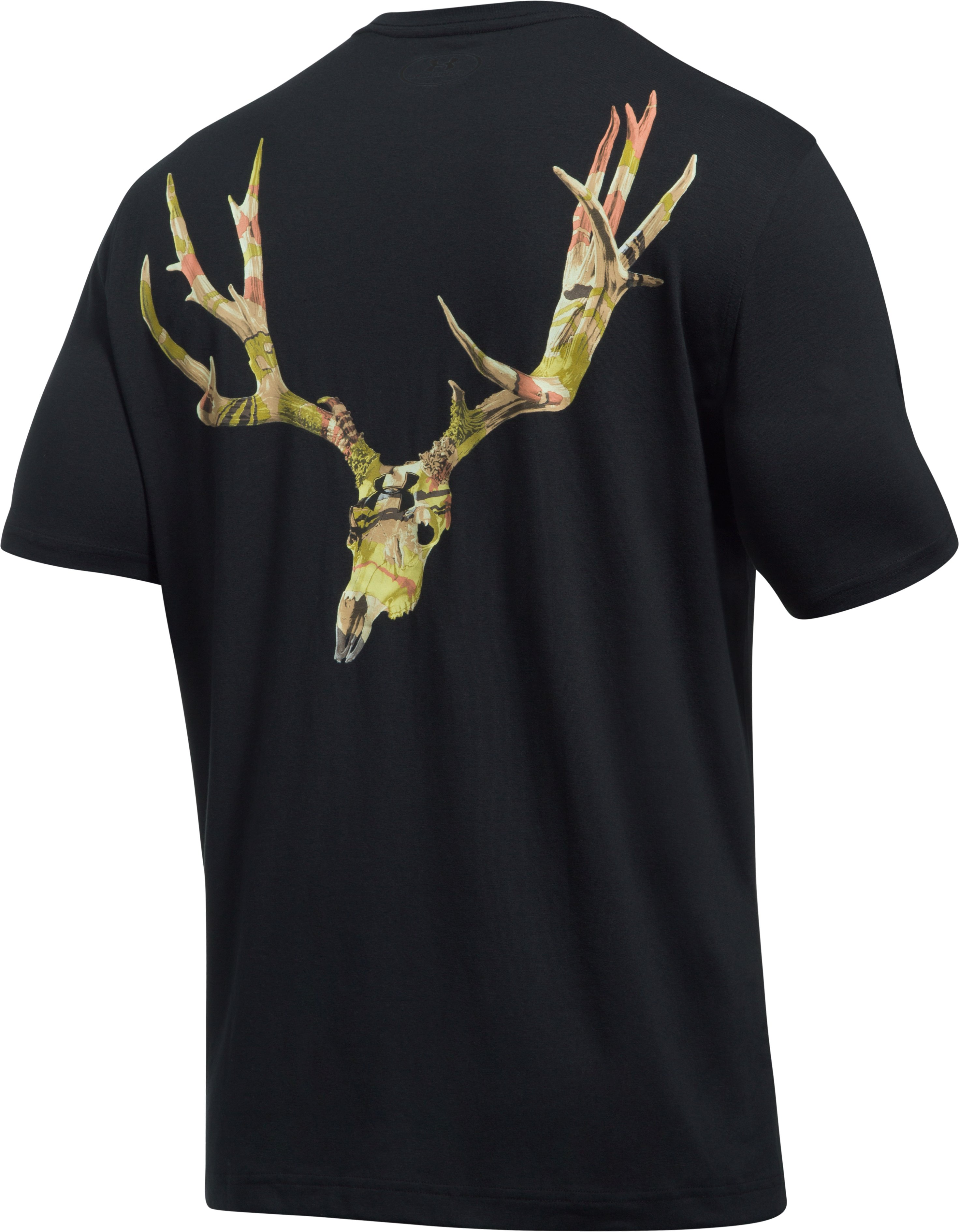 Men's UA Muley Skull T-Shirt, Black , undefined