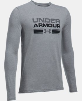 Boys' UA Crossbar Logo Long Sleeve T-Shirt  5 Colors $24.99