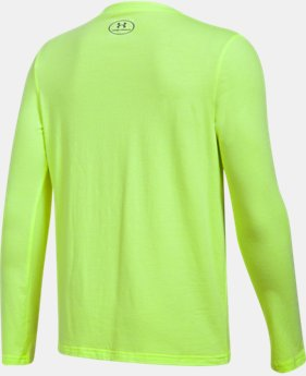 Boys' UA Crossbar Logo Long Sleeve T-Shirt  3 Colors $29.99