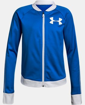 Girls' UA Track Jacket  1  Color Available $33.74