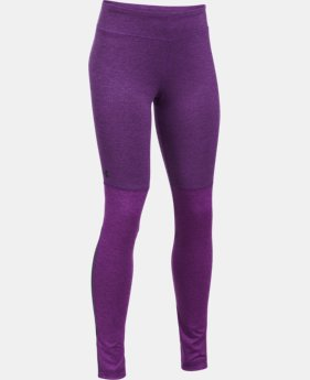 Girls' UA Elevated Training Plush Leggings  1 Color $34.99 to $37.49
