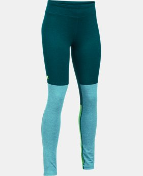 New to Outlet Girls' UA Elevated Training Plush Leggings  1 Color $34.99 to $37.49