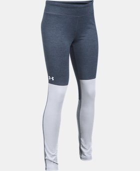 New Arrival  Girls' UA Elevated Training Plush Leggings  1 Color $59.99