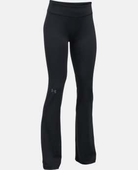Girls' UA Elevated Training Flare Pants  1  Color Available $44.99