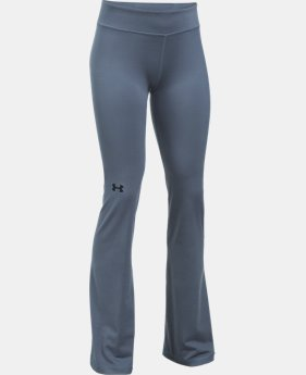 Girls' UA Elevated Training Flare Pants  2 Colors $44.99