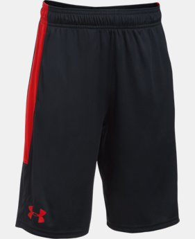Best Seller Boys' UA Stunt Shorts  2  Colors $24.99