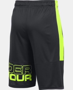New Arrival  Boys' UA Instinct Shorts   $29.99