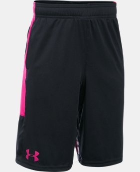 Best Seller Boys' UA Stunt Shorts  5  Colors $17.49 to $18.99