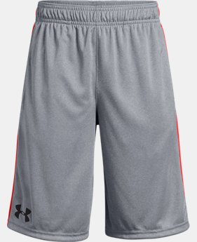 Best Seller Boys' UA Stunt Shorts  3  Colors Available $24.99