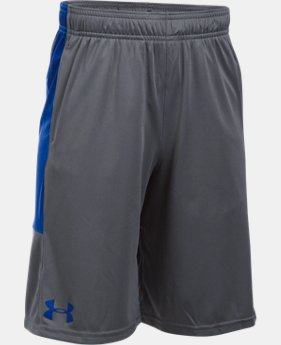 Best Seller Boys' UA Stunt Shorts  9 Colors $24.99