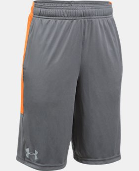 Best Seller Boys' UA Stunt Shorts  1 Color $17.49 to $18.74