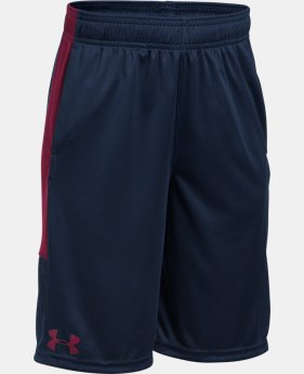 Best Seller Boys' UA Stunt Shorts  2 Colors $18.99 to $24.99