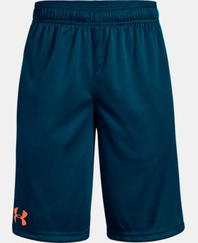 Best Seller Boys' UA Stunt Shorts  1  Color Available $17.49 to $18.74