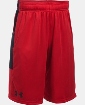 New Arrival  Boys' UA Stunt Shorts  1 Color $29.99