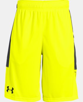 Best Seller Boys' UA Stunt Shorts  7  Colors Available $24.99