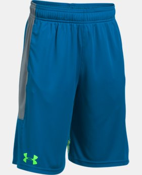Best Seller Boys' UA Stunt Shorts  4 Colors $24.99