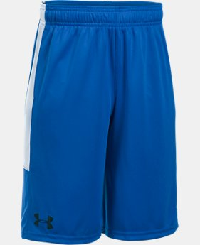 Best Seller Boys' UA Stunt Shorts FREE U.S. SHIPPING 1  Color Available $24.99