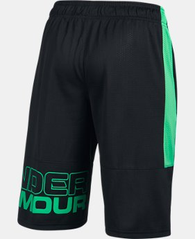Boys' UA Instinct Mesh Shorts  1 Color $27.99