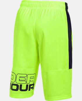 New Arrival Boys' UA Instinct Mesh Shorts   $27.99