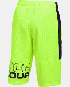 New Arrival Boys' UA Instinct Mesh Shorts  1 Color $27.99