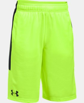 Boys' UA Instinct Mesh Shorts LIMITED TIME: FREE SHIPPING 2 Colors $32.99