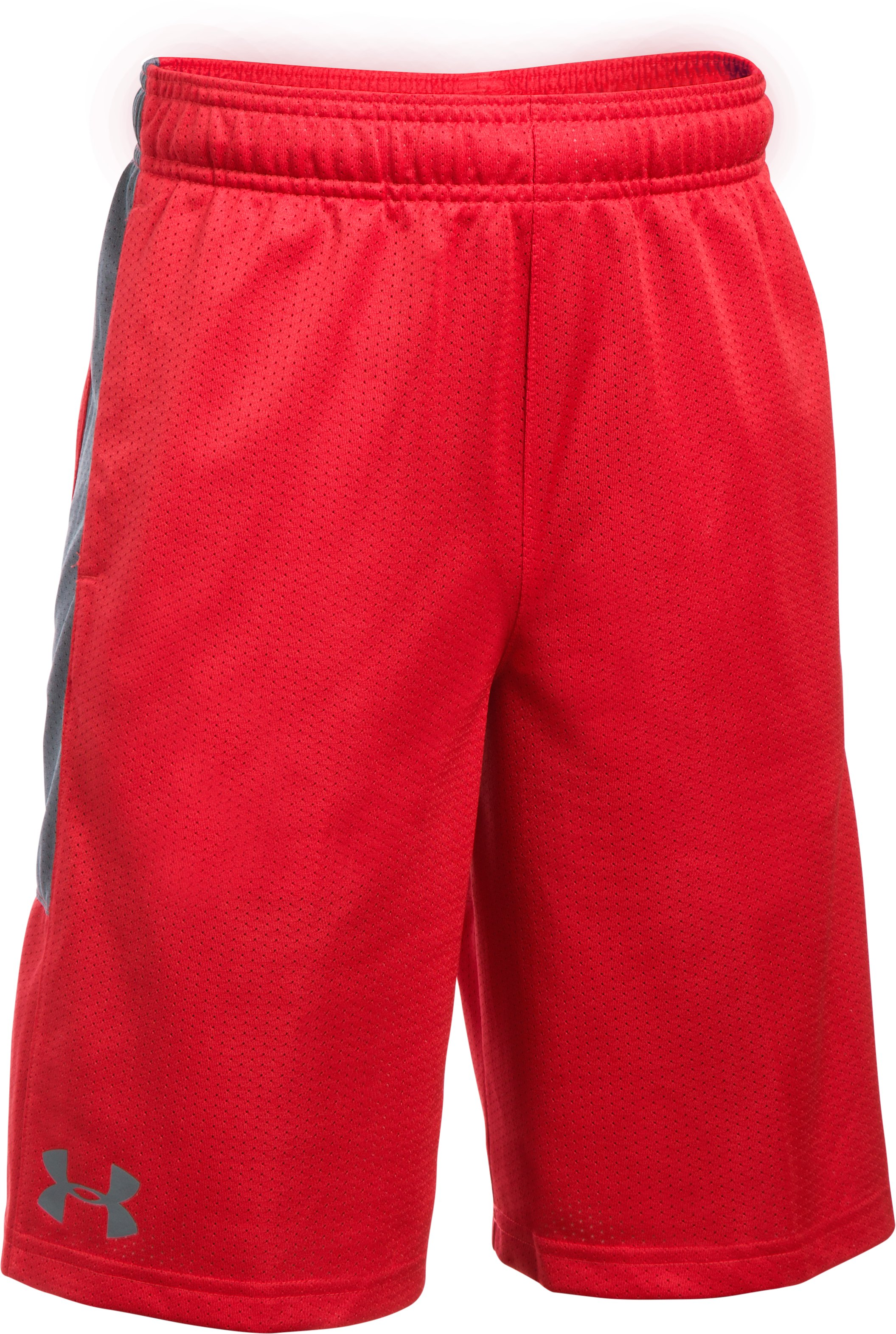 Boys' UA Instinct Mesh Shorts, Red
