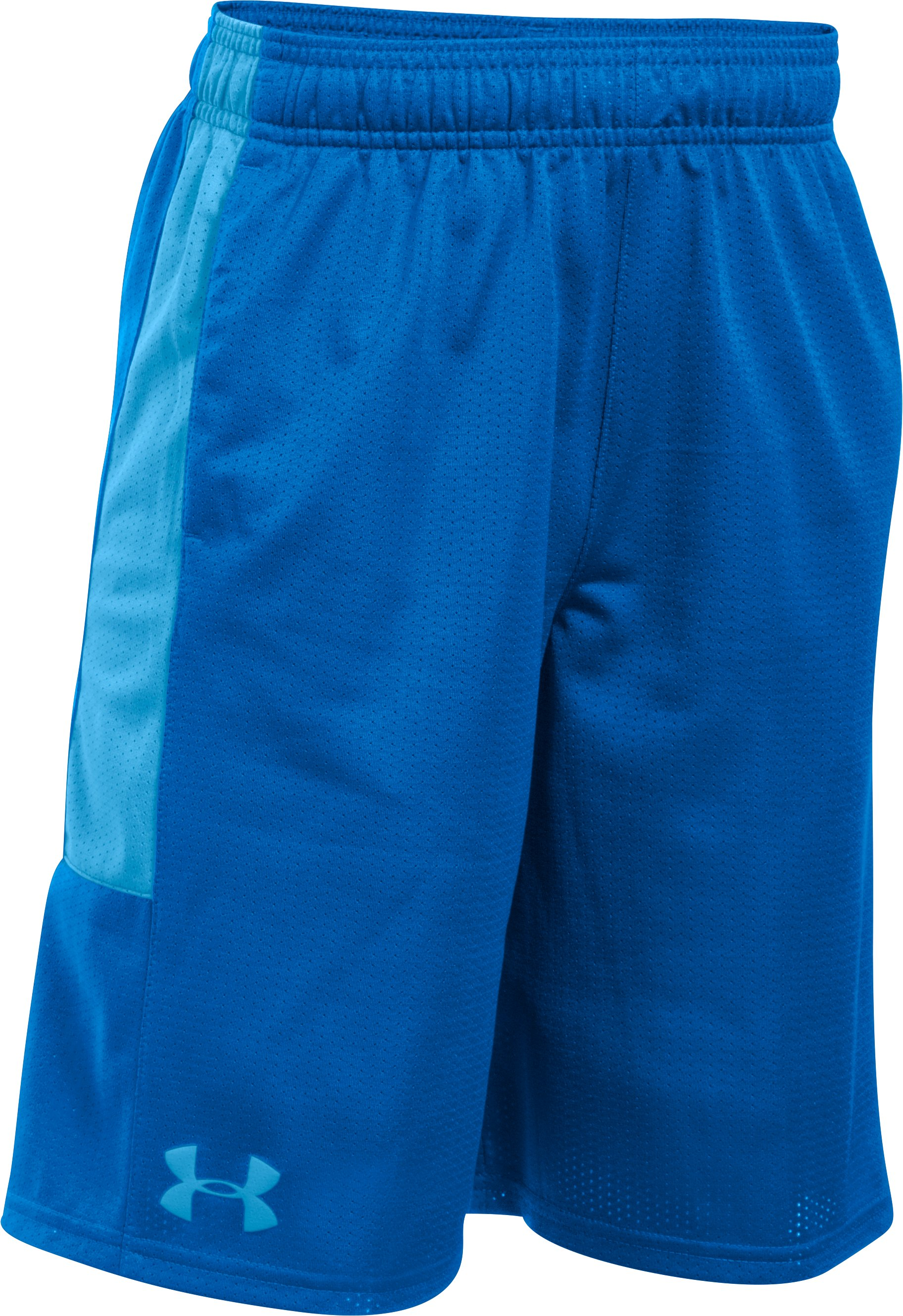 Boys' UA Instinct Mesh Shorts, ULTRA BLUE