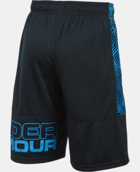 New Arrival Boys' UA Instinct Printed Shorts   $27.99