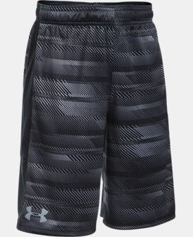 Best Seller Boys' UA Stunt Printed Shorts  16 Colors $19.99 to $27.99