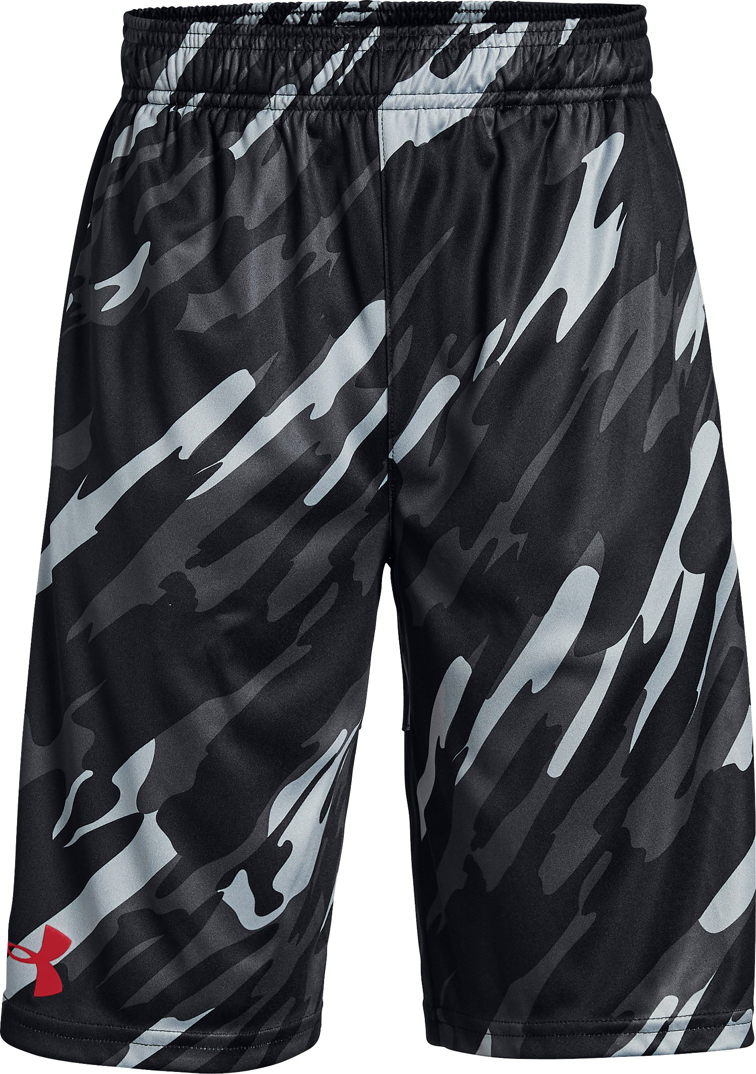 Boys' UA Stunt Printed Shorts, Black