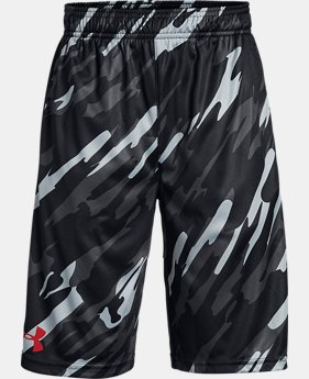 Best Seller Boys' UA Stunt Printed Shorts  4  Colors Available $30