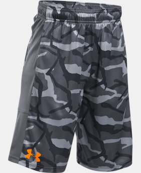 Best Seller  Boys' UA Stunt Printed Shorts  3 Colors $18.74